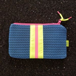 [ipsy] BRIGHT NEON MESH SPORTY Cosmetic Makeup Bag
